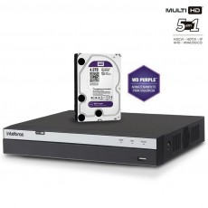 Dvr Intelbras 16ch Mhdx 3016 Full Hd Multi hd + Wd Purple 1 T