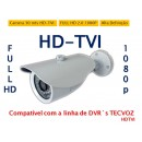 Camera Infra 30m 3.6mm Hdtvi 2.0 1080p FULL HD Compatível C/ Tecvoz HDTVI